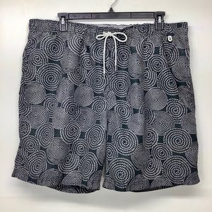 Lands End NEW Drawstring Swimming Trunks Size XXL